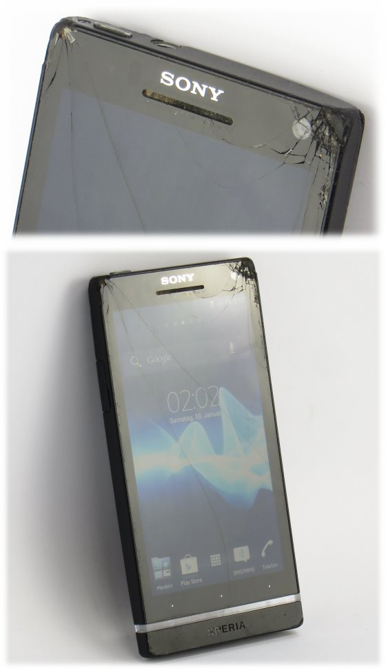 Sony Ericsson Xperia S 32GB Smartphone LT26i C-Ware