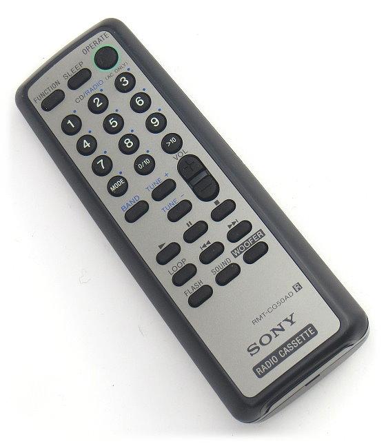 Sony RMT-CG50AD Fernbedienung für CD Radio