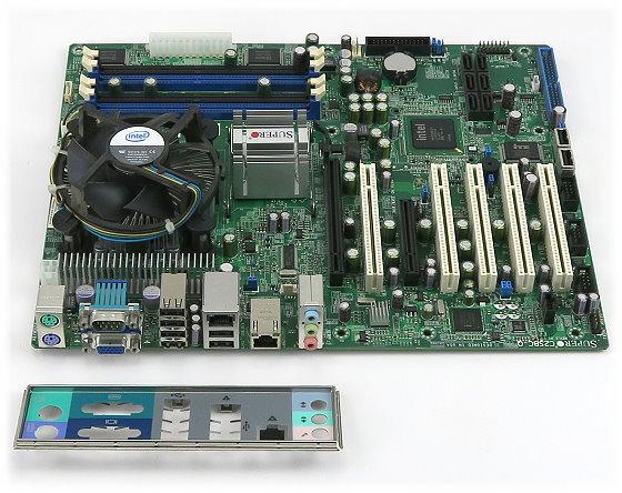 SuperMicro C2SBC-Q Rev 1.01 Mainboard Sockel LGA775 Industrial Board 5x PCI MoBo