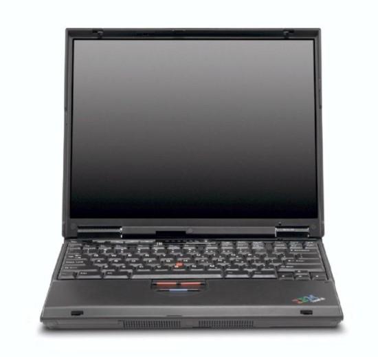 IBM ThinkPad T20 P3M 700MHz 256MB (ohne Laufwerk/ Akku defekt) B-Ware