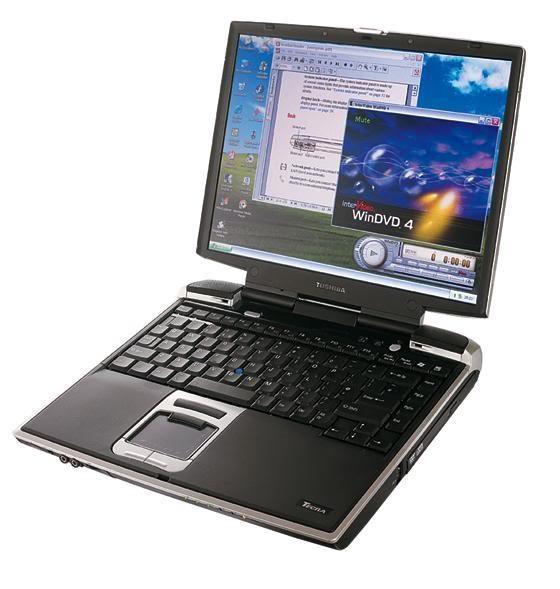 Toshiba Tecra M1 Pentium M 1,6 GHz 1GB 40GB DVD WLAN B-Ware