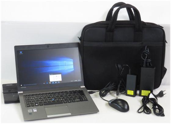 Toshiba Portege Z30 leichtes Business Notebook i5 4GB 128GB SSD Windows 10 + Dock
