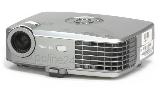 Toshiba TDP-P8 DLP Beamer 1500 ANSI/LU 2100:1 Lampe unter 2750 Stunden