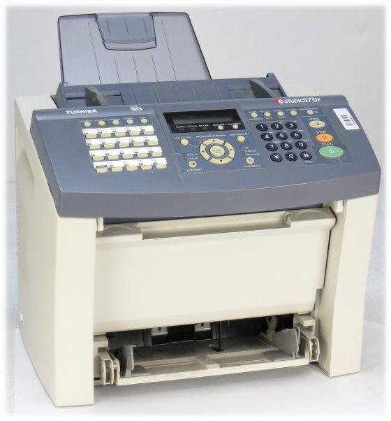 Toshiba e-Studio 170F FAX Kopierer Laserdrucker ohne Papierablagen
