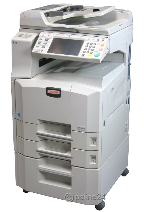 utax cd 1325 din a3 kopierer scanner laserdrucker adf duplex baugleich kyocera km 2560 all in. Black Bedroom Furniture Sets. Home Design Ideas