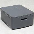 Unterschrank für Drucker mit Schublade abschließbar mit Schlüssel 475x258x600 mm (BxHxT)