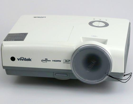 Vivitek D853W DLP Beamer 3200ANSI/LU HDMI LAN USB Lampe unter 250 Stunden +FB