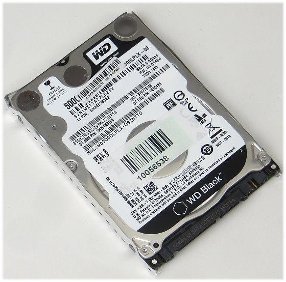 """2,5"""" WD WD5000LPLX 500GB SATA 6Gbps 7.200 rpm HDD Festplatte für Notebook"""
