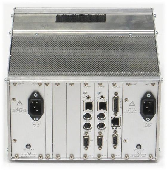 WEY 23129_85SDP Modular KVM Switch 2x VGA 4x PS/2 2x 24841RR 1x 22218KIC