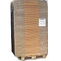 Wellpapp-Faltkarton 2.3 BC Doppelwelle 650x585x420 mm (LxBxH) 140Stk. auf Palette