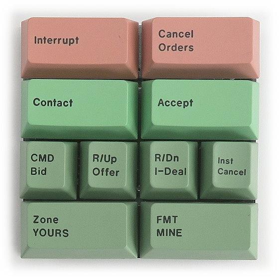 Wey Keyboard Modul Tastatur rot grün für MK06 u.ä. Customised Keypad