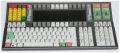 WEY Technology MK06 Tastatur für bis zu 16 PC USB 3x Display (ohne Kabel)