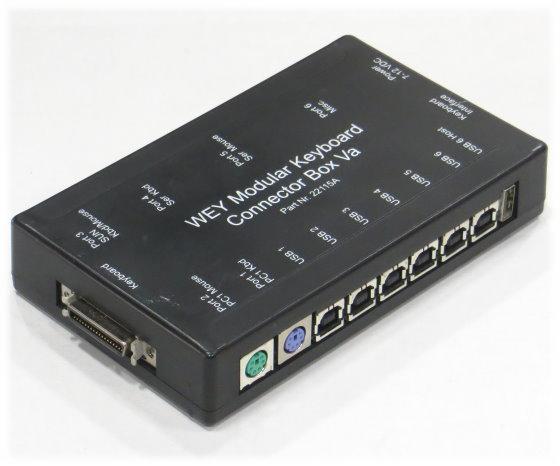 Wey Modular Keyboard Connector Box 22115A Adapter ohne Netzteil