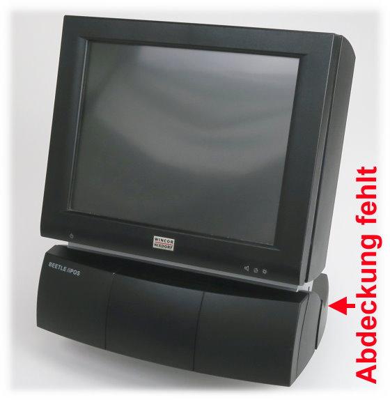 "Wincor Nixdorf Beetle /iPOS 12,1"" Touchscreen Kassensystem ohne hinterer Abdeckung"