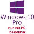 Microsoft Windows 10 Pro for Refurb PCs 64bit NEU/NEW