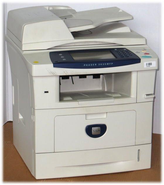 Xerox Phaser 3635MFP All-in-One FAX Kopierer Drucker Scanner 32.750 Seiten vergilbt