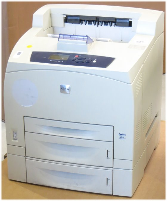 Xerox Phaser 4510N 43 ppm 128MB LAN Lasedrucker ohne Toner B- Ware