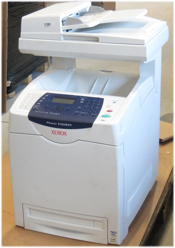 Xerox Phaser 6180MFP/N All-in-One FAX Kopierer Scanner Farblaserdrucker 68.100 B-Ware
