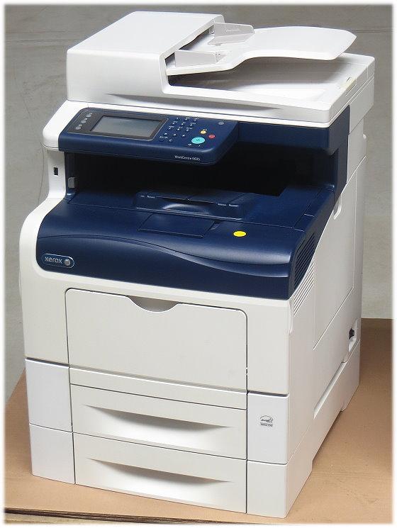 Xerox WorkCentre 6605DN All-in-One FAX Scanner Kopierer Farblaserdrucker 93.730 Seiten B-Ware