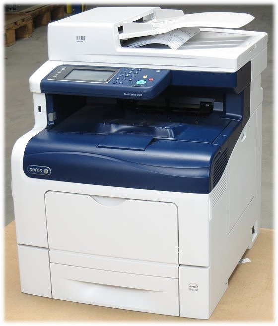 Xerox WorkCentre 6605DN All-in-One FAX Scanner Kopierer Farblaserdrucker Duplex