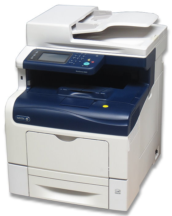 Xerox WorkCentre 6605DN All-in-One FAX Scanner Kopierer Farblaserdrucker 185.360 Seiten B-Ware