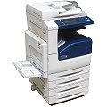 Xerox Workcentre 7225 DIN A3 FAX Kopierer Scanner Farblaserdrucker defekt