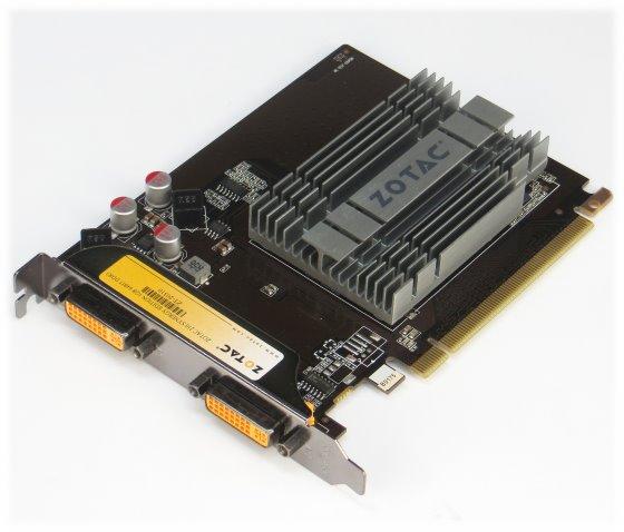 ZOTAC 210 Synergy Edition 1GB PCIe x16 Gen.2.0 2x DVI passiv Silent