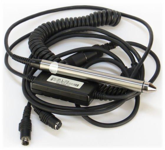 Zebex PSD100 Handscanner Barcode Scanner PS/2 PSD-100 & 15PS