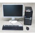 "Acer Veriton M4610G Tower + 22"" NEC Multisync E222w TFT Monitor + Maus & Tastatur"