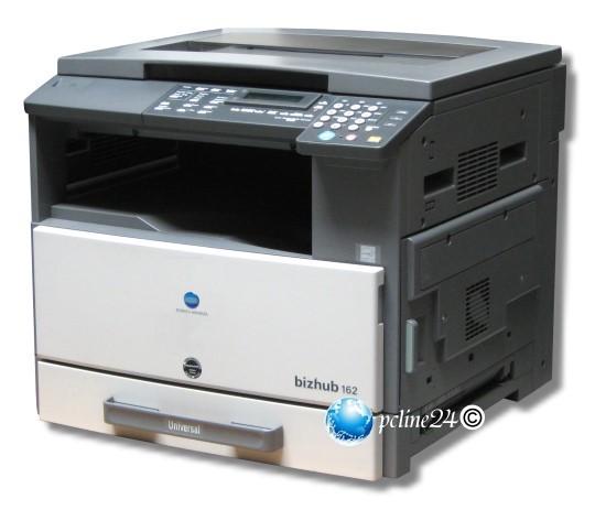 konica minolta bizhub 162 din a3 kopierer drucker scanner kopierer mit pc schnittstelle 10011018. Black Bedroom Furniture Sets. Home Design Ideas