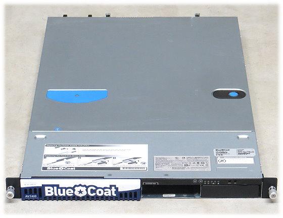 blue coat AV1400-A Xeon X5570 @ 2,93GHz 3GB 2x PSU Security Appliance Server