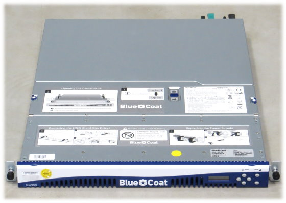 blue coat SG 900 Celeron G1101 @ 2,26GHz 8GB Proxy Server ohne HDD