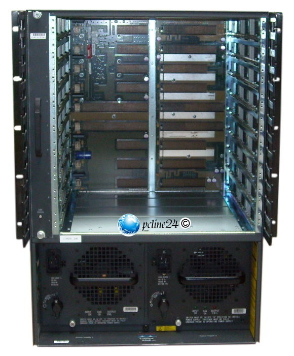 Cisco Catalyst 6500/6509 Chassis 2x PSU 1300W WS-C6509