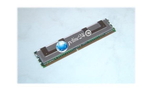 HP 2GB (2x 1GB) DDR2 PC2-5300F ECC FB 398706-551