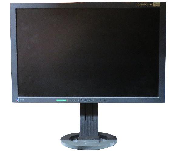"""24"""" TFT EIZO FlexScan SX2462W 2x DVI Displayport USB 1920x1200 matt"""