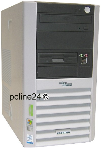 FSC Esprimo P5905 Celeron D @ 2,93GHz 1GB 160GB DVD B-Ware