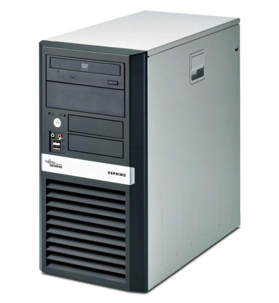 FSC Esprimo P5625 Athlon 64 X2 Dual Core 5000+ @ 2,6GHz 2GB 80GB DVD Computer