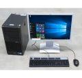 "Schüler Anfänger PC System Fujitsu Esprimo PC + 22"" LED Monitor + Win 10 64bit + Maus & Tastatur"
