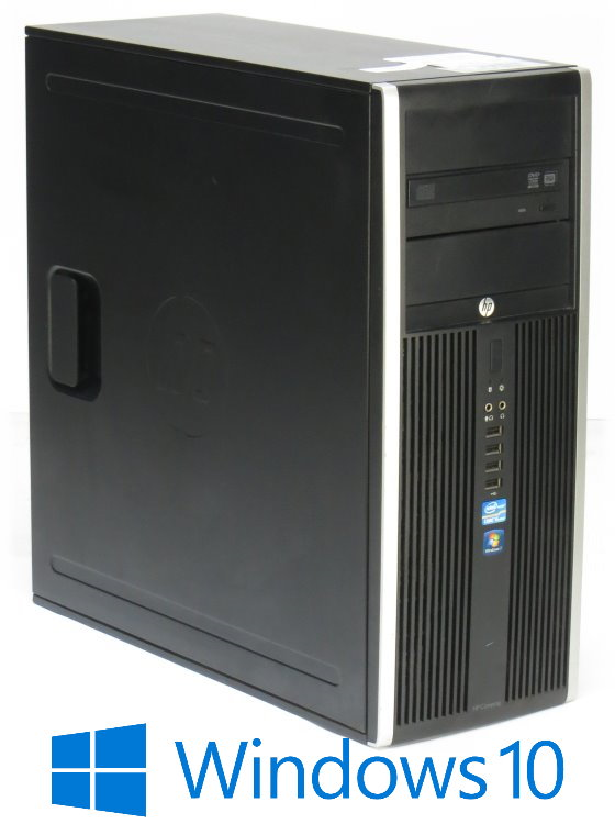 HP Elite 8300 Tower i5 3rd (3570) 4x 3,4GHz 8GB 500GB DVDRW Windows 10 Pro