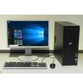"""Computer Komplett System HP PC Quad 2,66GHz 8GB + 22"""" LG TFT + Win 10 64bit"""