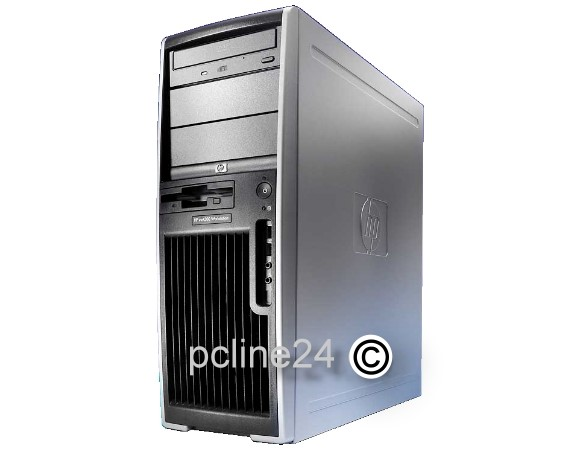 HP XW4300 P4 HT 660 @ 3,6GHz 2GB 160GB DVD FX1400