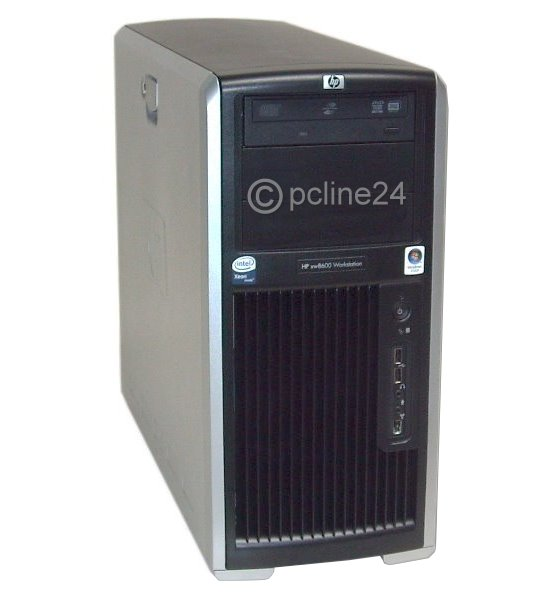 HP XW8600 Xeon Quad Core X5450 @ 3GHz 8GB 146GB DVD FX4600/768MB Workstation