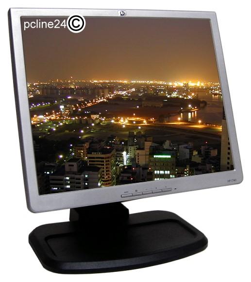 """17"""" LCD TFT HP L1740 500:1 8ms TCO""""03 B-Ware"""