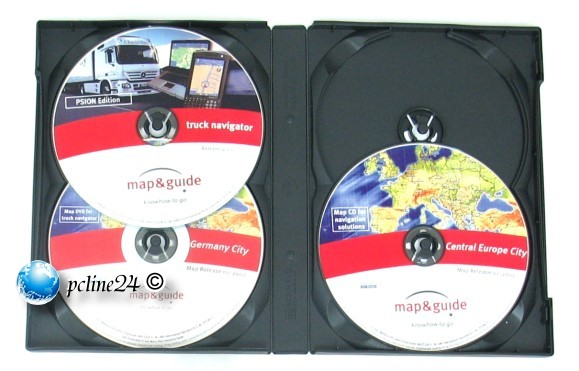 map&guide truck navigator Pocket PC Psion Edition 4.1.1 Europe / Germany 2007