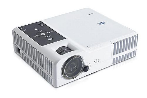 HP mp 3222 DLP Beamer Projektor 2000 ANSI/LU 2000:1 Lampe unter 750 Stunden