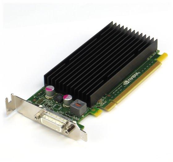 nVIDIA NVS 300 512MB PCIe x16 DMS-59 Low Profile Grafikkarte passiv silent