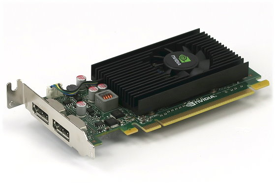 nVIDIA NVS 310 512MB PCIe x16 Gen2 2x DisplayPort Low Profile Grafikkarte