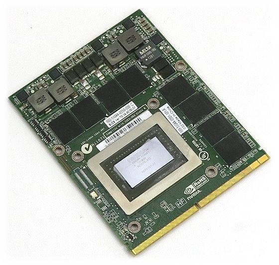 nVIDIA Quadro K3000M 2GB MXM-Grafikkarte PCIe x16 (MXM v3.0) für HP Z1 Workstation