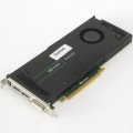 NVIDIA Quadro 4000 2GB PCIe x16 Gen2 Grafikkarte defekt an Bastler