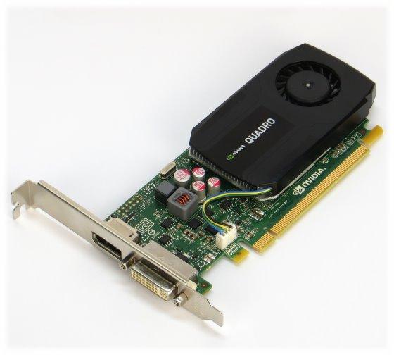 NVIDIA Quadro K600 1GB DDR3 PCIe x16 DVI-I DisplayPort Grafikkarte